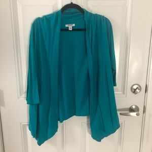 Old Navy Sweaters - Teal open front women's cardigan